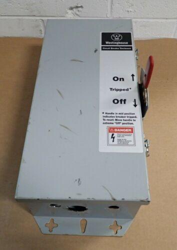Westinghouse JFDN100 Type 12 Dust Tight Circuit Breaker Enclosure
