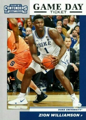 2019-20 Basketball PANINI CONTENDERS DRAFT PICKS GAME DAY TICKET You Pick zion