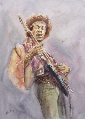 Jimi Hendrix A3 (297x420mm) Art Print