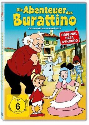 DIE ABENTEUER DES BURATTINO/ZEICHENTRICK    DVD NEW