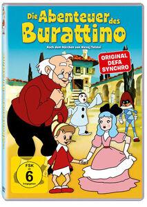 Die Abenteuer des Burattino DVD Neu!