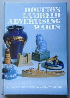 DOULTON LAMBETH ADVERTISING WARES BY JOCELYN LUKINS