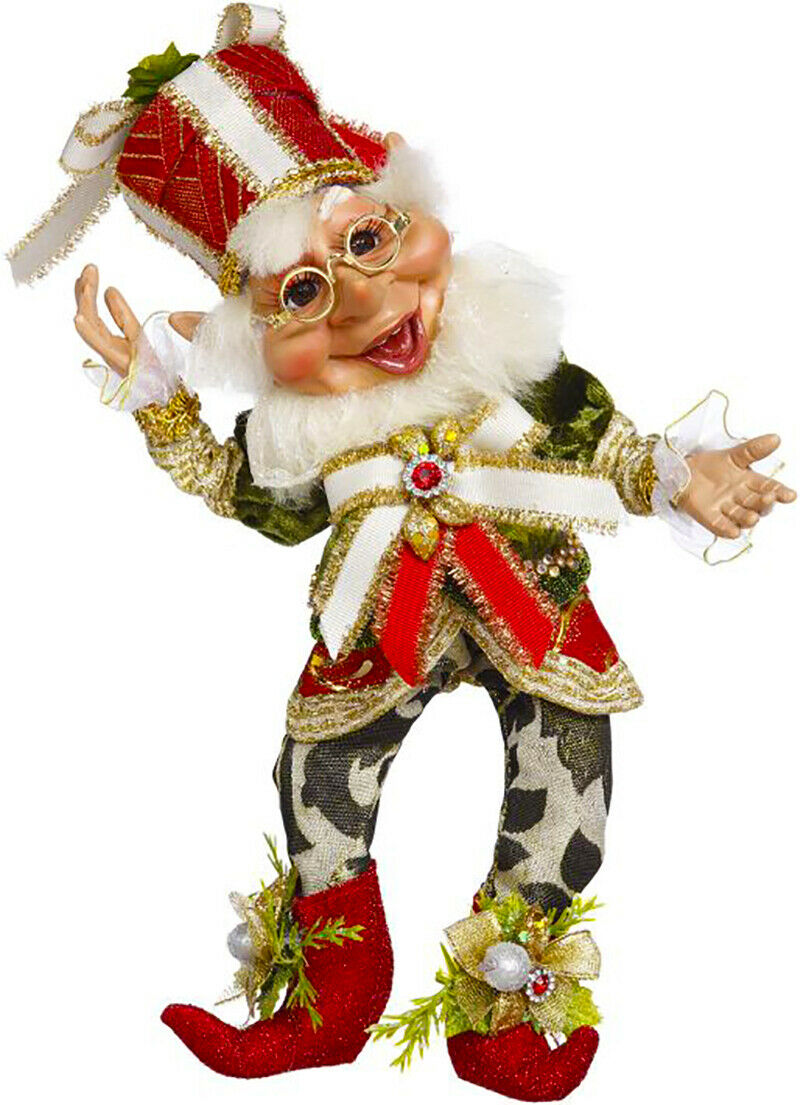 "[Mark Roberts Elves - Present Elf 51-05528 Small 11"" Figurine </Title]"