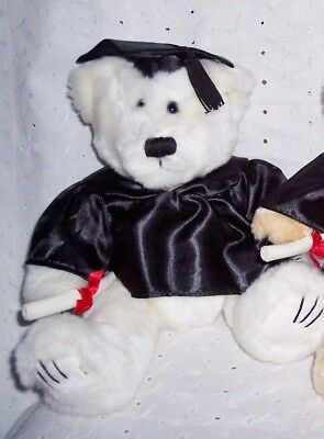 GRADUATION TEDDY BEAR DIPLOMA -WHITE  14