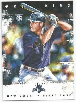 Greg Bird New York Yankees 2016 Diamond Kings Rookie Card