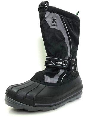 Kamik Snowcoast 4 Gr.39 Unisex-Kinder Schuhe Winter Schneestiefel Schwarz NEU