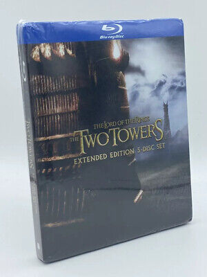 Lord of the Rings: The Two Towers [2012] Blu-ray+DVD*+Digital; 5-Disc Extended