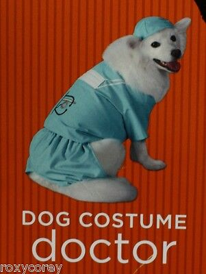 Halloween Doctor Scrubs Clothing Pet Dog Costume Size XSmall 2-6 lbs 6-9 in NWT (Doctor Dog Halloween Costumes)