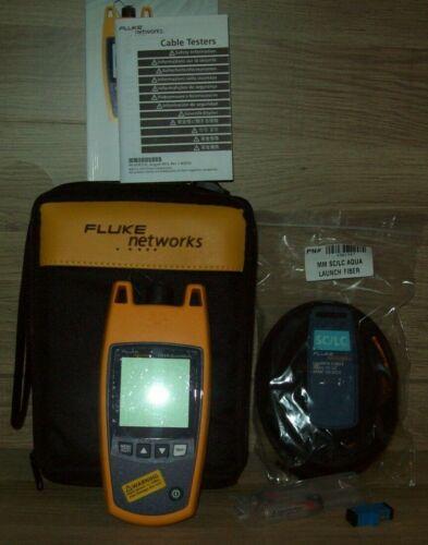 Fluke Networks FQM-100-M Fiber QuickMap Multimode Fiber Distance & Fault Locator