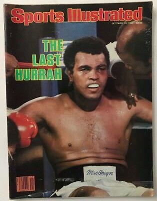 1980 Sports Illustrated Magazine - MUHAMMAD ALI October 13, 1980 Sports Illustrated Magazine - NO LABEL
