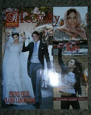 Royalty Monthly Magazine Volume 23 No  3 Kate Middleton Prince George Harry