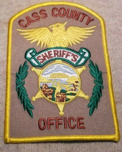 NE Cass County Nebraska Sheriff Patch