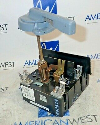 Westinghouse Electric Visi-flex 2607d63g05 60 Amp 600v Rotary Disconnect Switch