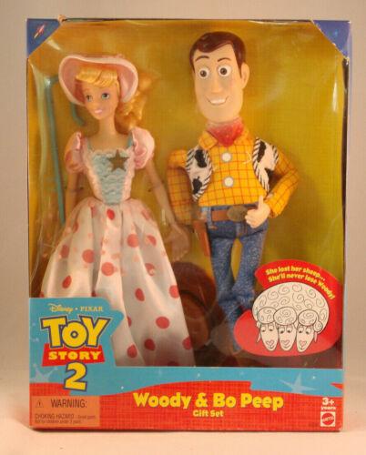 Woody and Bo Peep Gift Set - Toy Story 2 - Mattel - Disney/Pixar - #23785 - 1999