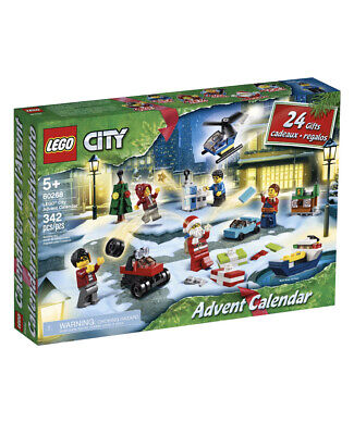 LEGO City Advent Calendar 2020 NEW!! In Hand To Ship! Lego 60268 VHTF! 24 Gifts!