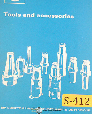 Sip 620 720 Hauser Tooling And Equipment Tooling Systems Manual 1982