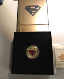 Superman Canadian Mint - Limited  Edition