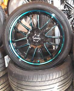 """17"""" King Drifta Alloys And Tyres To Suit Small Cars Toowoomba Toowoomba City Preview"""