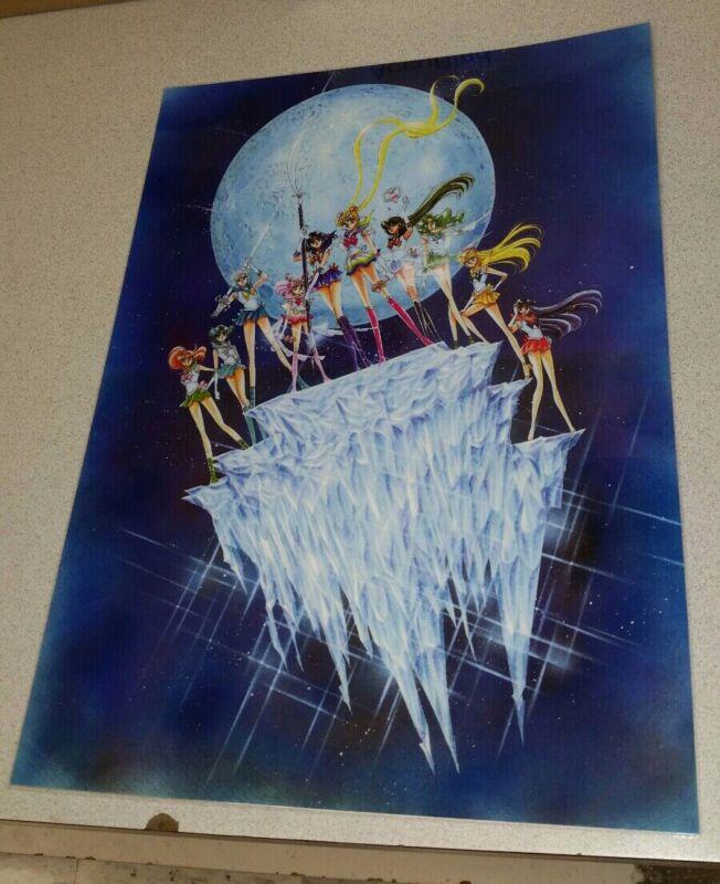 Sailor Moon Manga Poster 11x15 laminated