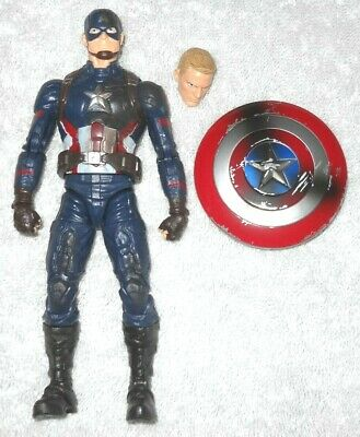 Marvel Legends - Captain America (Captain America Civil War 3 pack figure) 100%