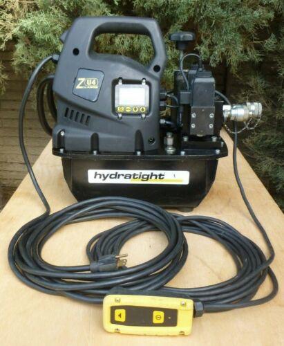 Enerpac ZU4/Hydratight Electric Hydraulic Torque Wrench Pump w/LCD, Solenoid,