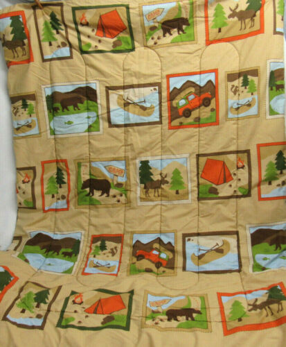 WOOLRICH KIDS BLANKET QUILT BABY TODDLER CAMPING