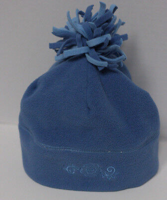2c1c0ece REI Kids Size 4 5 6 7 Fleece Beanie Hat Winter Ski Snow Cap Blue Lined Warm  EUC