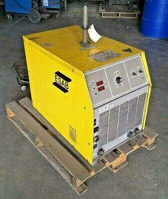 Esab Welder 352-cv 350 Amp Arc Mig 3 Phase W Plug Used - 003