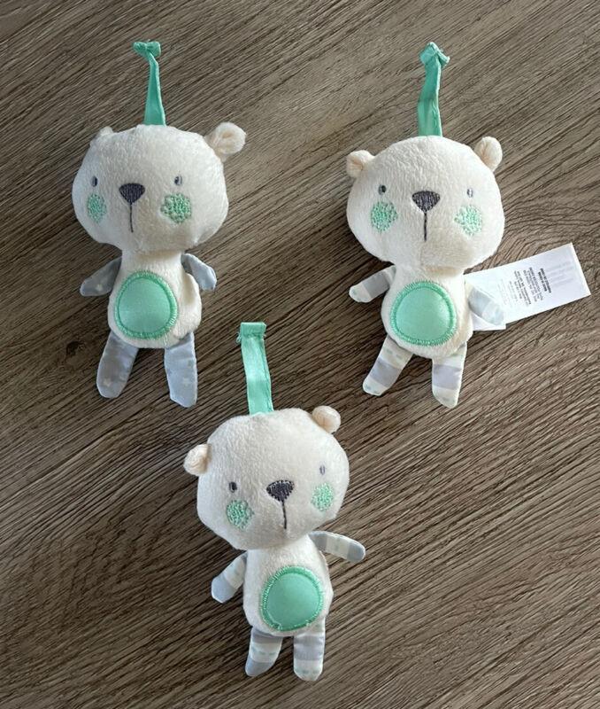 Ingenuity Inlighten Cradling Swing 3 Plush Mobile 3 Plush Toys Replacement Part