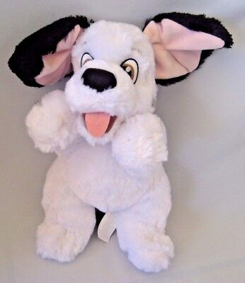 "Disney Babies 101 Dalmatians Dog Plush 10"" Stuffed Animal Disney Parks Clean"