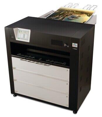 Kip C7800 Color Production Wide Format Printer W Stacker Showroom Model 1k