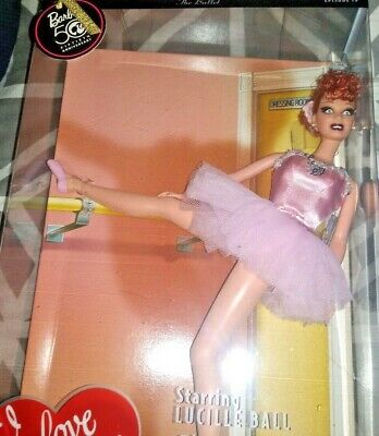 2008 I Love Lucy Ricardo Doll Barbie Collector Pink Label The Ballet Ep19 #N6566