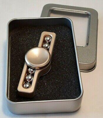 Quality Executive Gold Fidget Spinner High Speed Metal Gadget 6-Ball Bearing Box