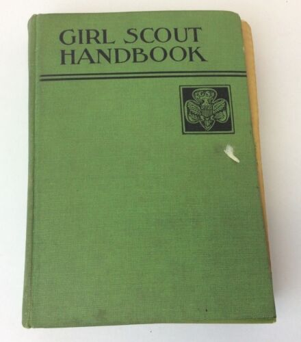 New Edition First Impression October 1933 Girl Scout Handbook Hardcover Book