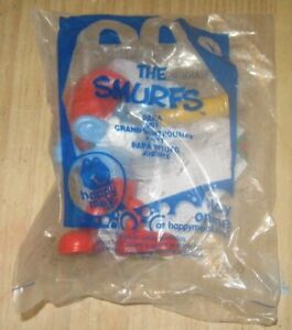 2011 The Smurfs McDonalds Happy Meal Toy - Papa Smurf #1