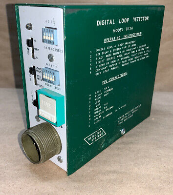 Detector Systems Digital Loop Detector Traffic Control Model 813a