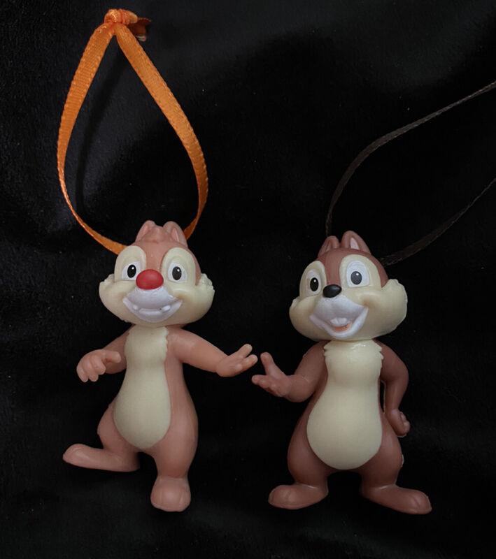 Disney Chip and Dale Chipmunk Christmas Ornament Set