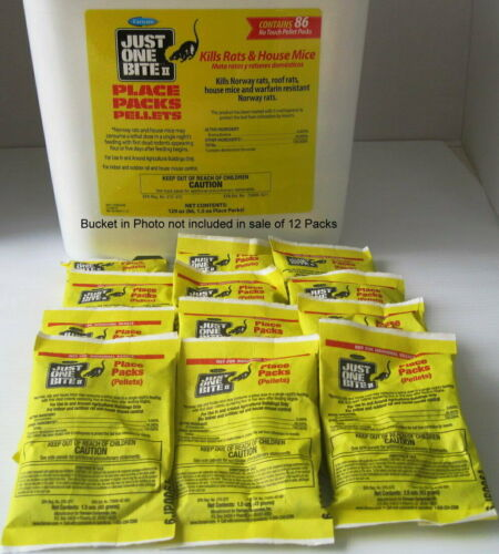 Just One Bite II Pellet Packs (12 Packs) FREE! Priority Mail Insured Shipping!