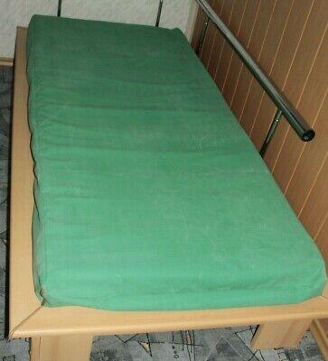 9500IG, Gummilaken, Matratzenschutzbezug 200x90x15cm. aus Rot/Grün Gummibettstof