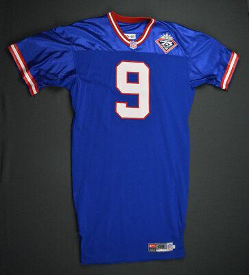 57980ea01 1999 Brad Maynard New York Giants Game Used Jersey Size 46 Worn Ball State