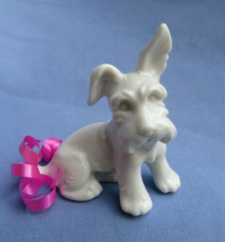 """SKYE SILKY SCOTTY TERRIER Augarten Austria dog 3"""""""
