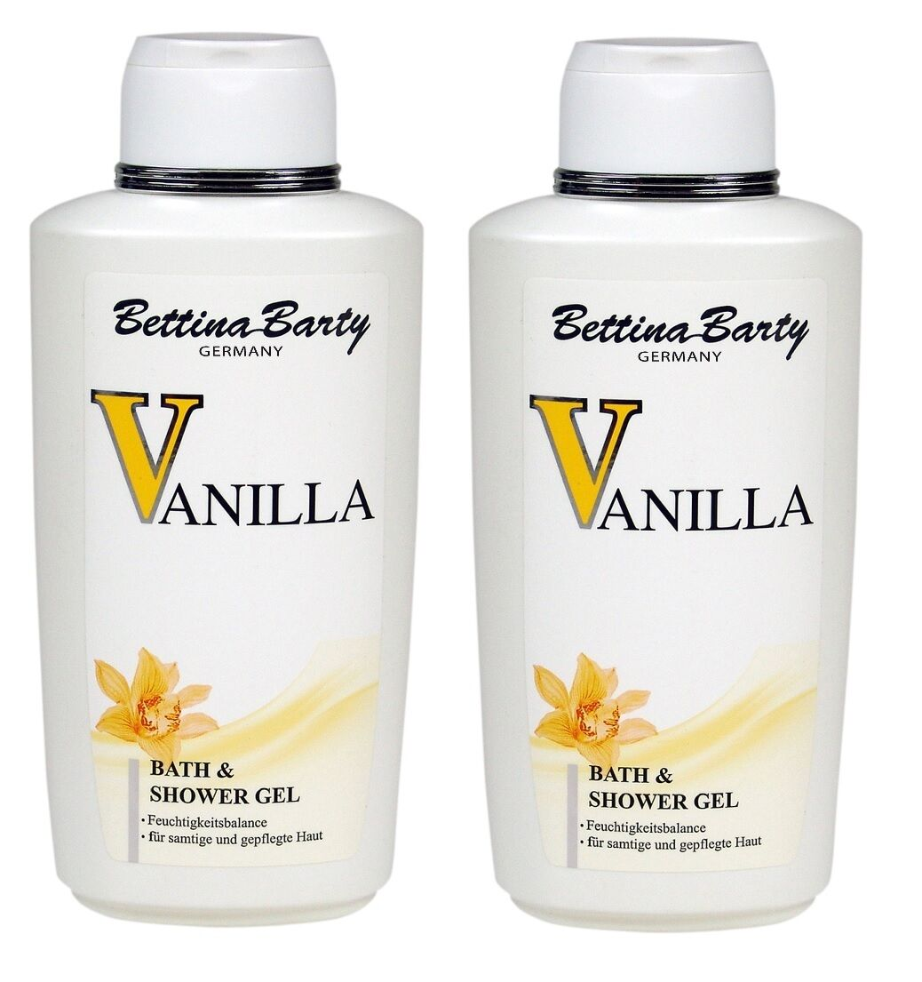 Bettina Barty Vanilla Bath & Shower Gel Dusch Gel 2 x 500 ml Sparpack