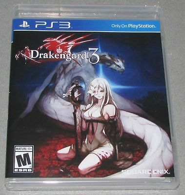 $22.97 - Drakengard 3 for Playstation 3 Brand New! Factory Sealed!