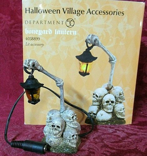 Department 56 Halloween Lit Accessory ~ Boneyard Lantern #4038899