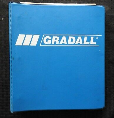 Genuine Gradall Xl4100 Xl4200 Hydraulic Excavators Service Maintenance Manual