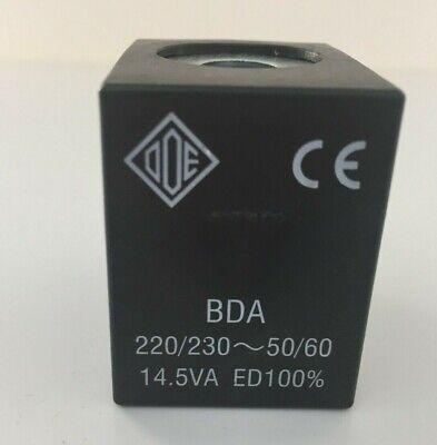 Coil Ode BDA08223DS 220/230V 50/60HZ Solenoid Valves Fas Vending, Wittenborg