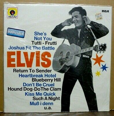 ELVIS PRESLEY Golden Boy Elvis GERMAN LP Still Sealed