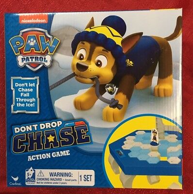 Paw Patrol Dont Drop Chase Action Game- Brand New