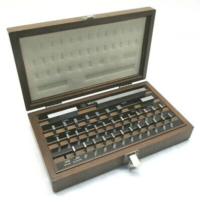 Mitutoyo .100 To 4 35-piece Inspection Gage Block Set - 516-915 - Be1-35-3