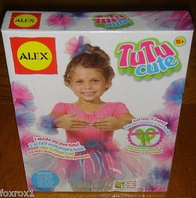 Tutu Cute Alex Toys Tulle Strips Satin Ribbons Elastic Bands Brand New Box NIB